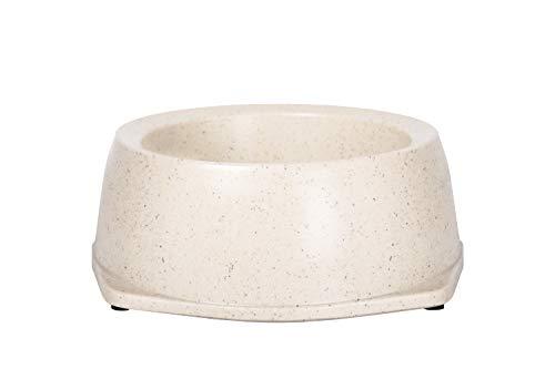 Bamboe Bowls bamboe milieuvriendelijk, antislip duurzame crème huisdier kom, gemaakt met bamboe vezels, 700ml