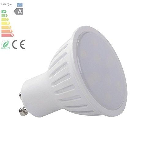 5 Pack KANLUX® GU10 3 Watt Tomi LED 5300K Koel Wit Kleur Vervanging Voor Halogeen Lamp Met Nieuwe Chip Technologie Met 1 Jaar Garantie, Niet Dimbaar 22703