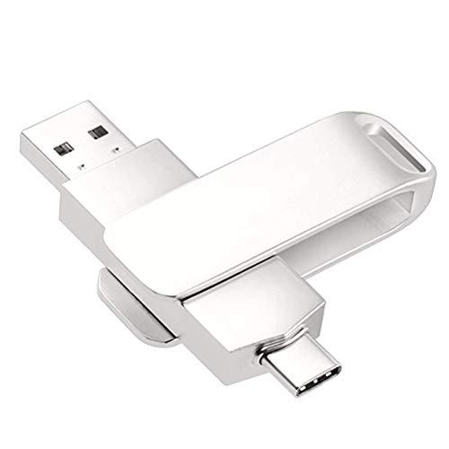 RUIHUA Dual Flash Drive USB 3.0/3.1 Tipo C de Alta Velocidad impulsión del Pulgar Memory Stick USB Compatible para Android Móvil, Tablet, Pixel, Dispositivos de PC,64gb