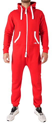 Finchman 43L4 FMJ18 Herren Jumpsuit Overall Rot L