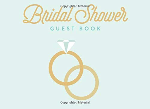Price comparison product image Bridal Shower Guest Book: Rings