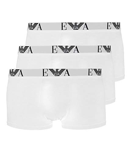 Emporio Armani CC715 Trunk 3er Pack L Weiss (16510)