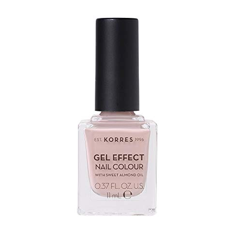 Korres SWEET ALMOND OIL Gel Effekt Nagellack ,Nr. 32 Cocos Sand, 1er Pack (1 x 11 ml)