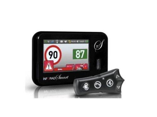 Inforad Smart Avertisseur de Danger communautaire pour GPS France/Europe Noir