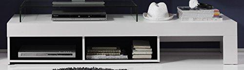 Wohnwand – Modern in weiß Bild 4*