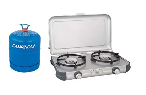 Campingaz Camping Kitchen 2 Portable Stove + Free R907 Empty Cylinder