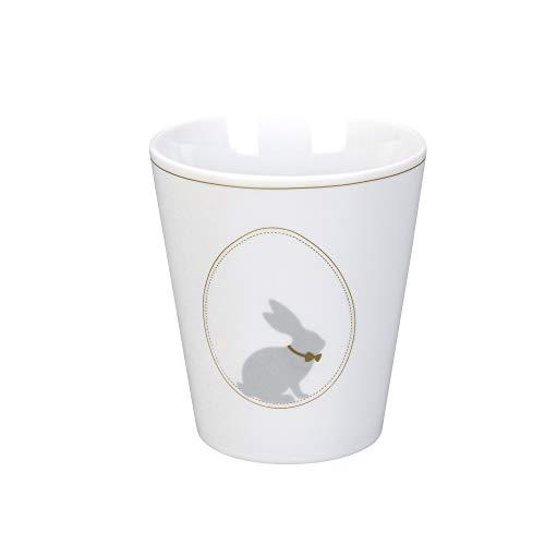 Krasilnikoff - Becher, Tasse - Happy Mug - Osterhase - ca. 330 ml - Höhe: 10 cm