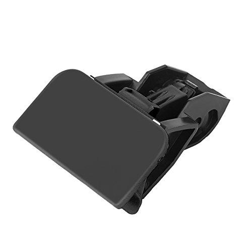 Glove Box Lid Handle, Car Glove Box Lock Latch Lid Handle No Hole (black)