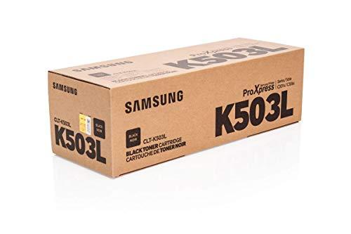 Samsung clt-k503l Toner Laser 8.000Seiten schwarz–Tonerkartuschen und Laser (Laser Toner, 8000Seiten, schwarz, 1Stück (S))