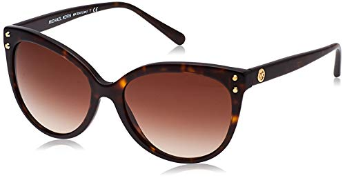 Michael Kors Damen Jan 300613 55 Sonnenbrille, Braun (Dark Tortoise Acetate/Brown Gradient)