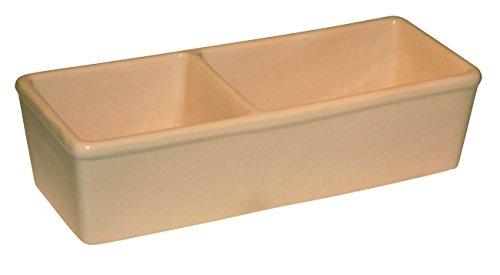 Kerbl 82785 Keramiknapf für Nager, doppelt 350ml + 450ml
