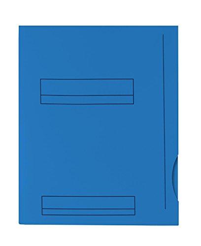 Oxford – Lote de 50 subcarpetas A4, capacidad para 200 hojas, grosor de 180 g, color azul