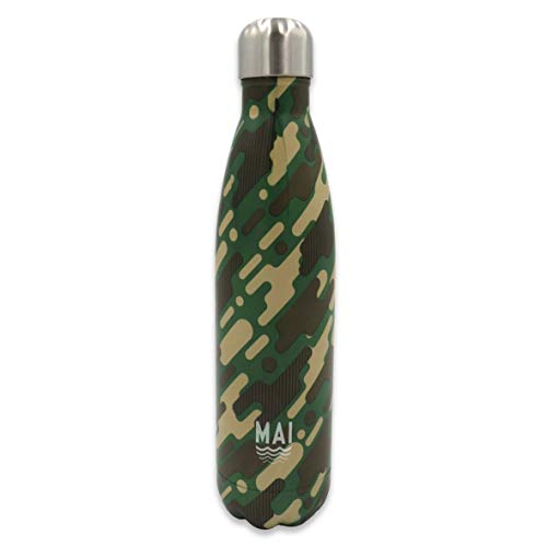 Robert Frederick Bouteille d'hydratation, motif camouflage, taille M.