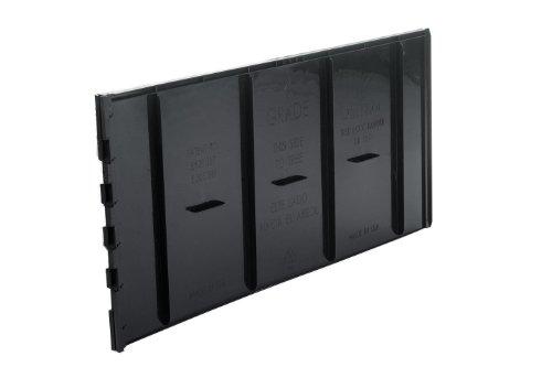 DEEPROOT UB 12-2 Lot de 40 Panneaux pour barrière Anti-Racines 31 x 61 cm