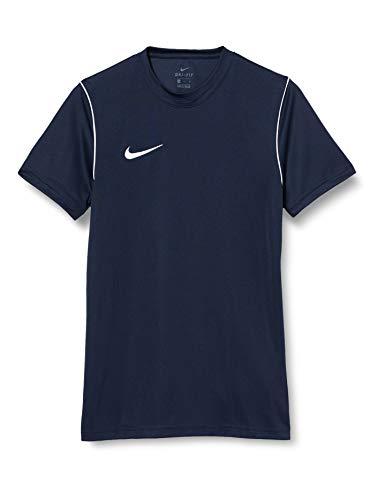 NIKE M Nk Dry Park20 Top SS Camiseta de Manga Corta, Hombre, Obsidian/White/White, L