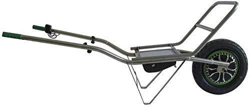 SMARTWIEL AKKUSCHUBKARRE MIT TRÄGER Tragfähigkeit 150 kg ELEKTROSCHUBKARRE MOTOR 500 W AKKU: Li-Ion MOTORSCHUBKARRE Träger für Holz und sperriges Material, Optional auch für imker geeignet
