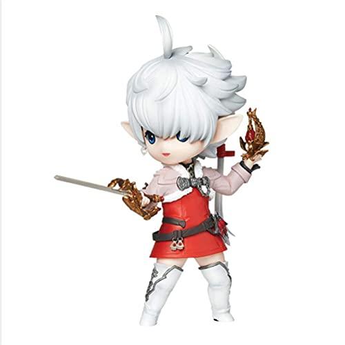 XYZLEO Final Fantasy XIV Anime Action Figur Alisaie Leveilleur 6'' Animationen Charakter Modell PVC Collection Spielzeug Dekoration Ornamente