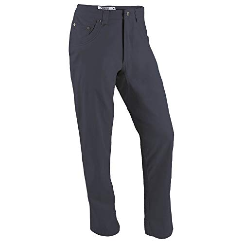 Mountain Khakis Mens Pants: Camber 103 Pant Classic Fit - Mid Rise Stretch Twill Fabric, Navy, 35W 30L