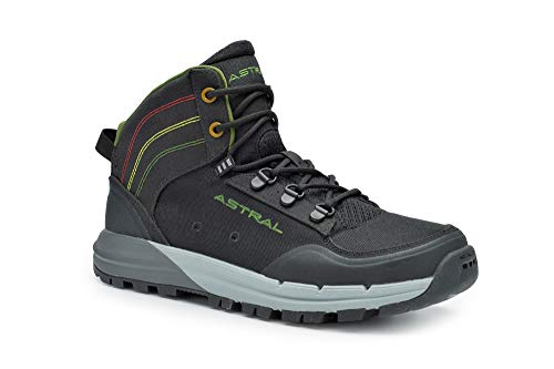 Astral Men's TR1 Merge Outdoor Boot for Hiking, Rasta Black, 8.5 M US