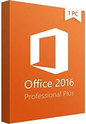 Office Professional 2016 Plus License - 1 PC - KeyCard - US