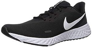 Comodidad regulable: las Zapatillas deportivas Nike Revolution 5 amortiguan su paso con espuma suave para correr cómodamente. Diseño minimalista que se adapta a casi cualquier lugar del día. Apoyo transpirable: estas zapatillas para hombre Nike están...