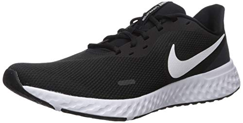 Nike Men's Revolution 5 Running Shoe, Black/White-Anthracite, 11 Regular US