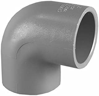 """Charlotte Pipe 90 Degree Elbow 3/4 """" Gray Schedule 80 Pvc"""