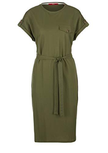s.Oliver Damen Kleid, 7810 Green, 46