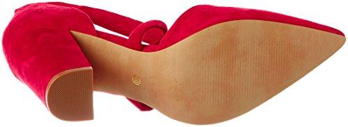 Steve Madden 91000230-0S0, Scarpe con Tacco Donna, Rosso (Red), 36 EU
