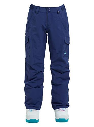 Burton Mädchen Elite Cargo Snowboard Hose, Spellbound blau, M