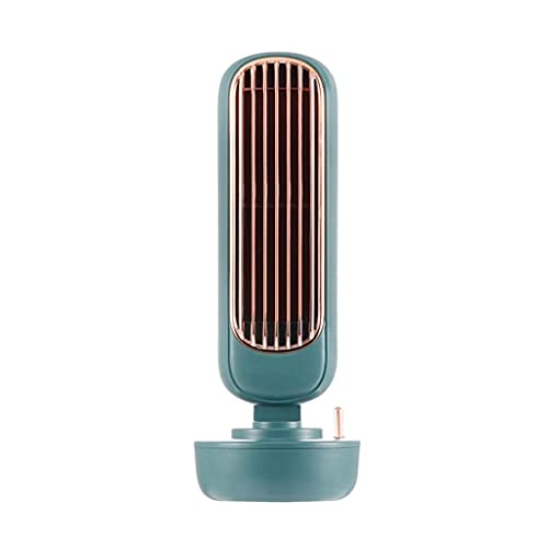 DFJU Ventilador portátil de resfriamento doméstico de condicionadores de ar, Mini, purificador com USB, Ventilador de resfriamento de Mesa de 3 velocidades para casa, Sala, escritório