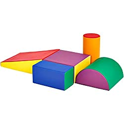 in budget affordable Playset Amazon BasicsSoft Play Climb and Crawl 5 pcs