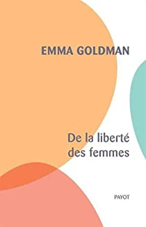 De la liberté des femmes par Emma Goldman