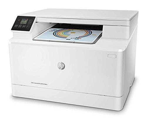 HP 7KW54A Color LaserJet Pro MFP M182n - Impresora láser multifunción, color, Ethernet, Blanco