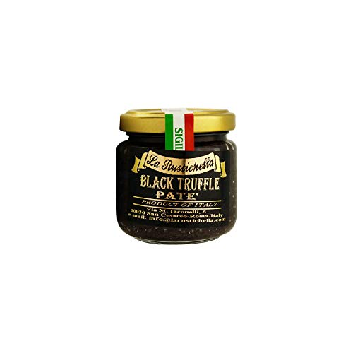 La Rustichella Black Truffle Pate - 3.2 Oz.