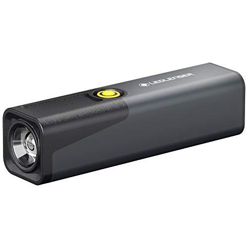 Ledlenser iW3R - Linterna LED con puerto USB (320 lm, 143 g)