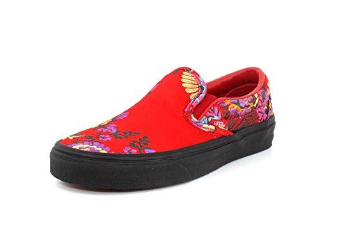 Vans Damen Laufschuhe, Color Rot, Marca, Modelo Damen Laufschuhe Classic Slip-ON Rot