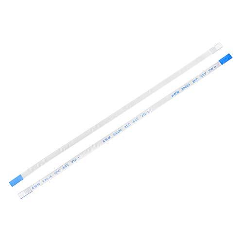 sourcing map 10 STK. Flexibles Flachbandkabel B Typ 6 Polig 0,5mm Abstand 150mm FPC FFC
