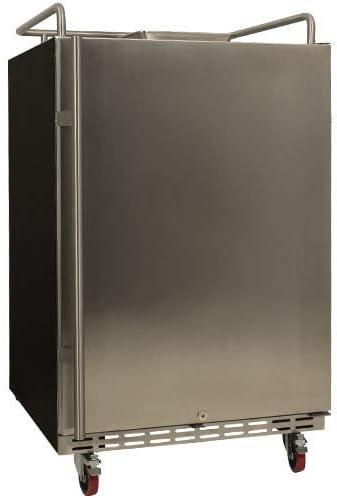 EdgeStar overseas BR7001SS Full Max 78% OFF Size Built-In Kegerator Conversion Refrig