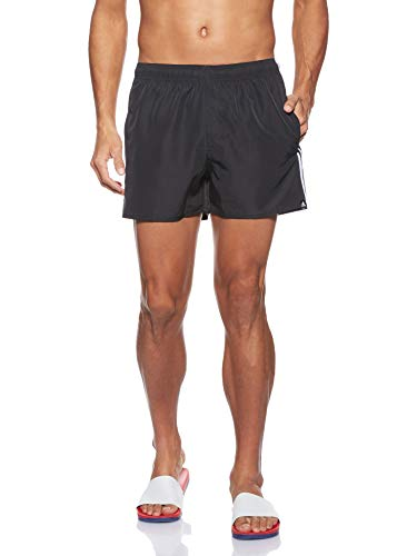 adidas Herren 3S SH VSL Swimsuit, Black/White, L