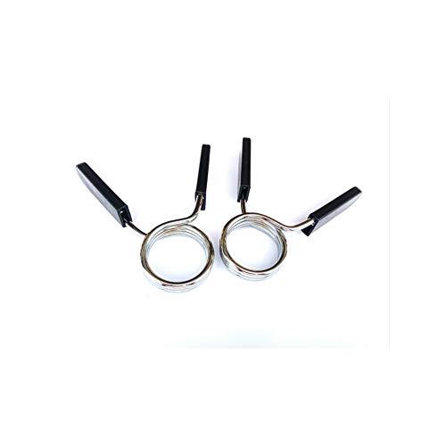Chanhan, 2 clip per bilanciere a molla, per bilancieri, attrezzatura da palestra