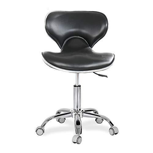 WANGXN Salon Chair Professional met Swivel Hydraulic Gas Lift Zadelkruk voor gebruik in klinieken, salons en kantoren