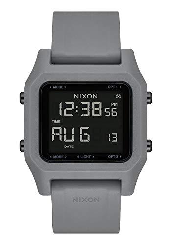 Nixon Herren Digital Chinesische Automatik Uhr mit Kunststoff Armband A1282-132-00