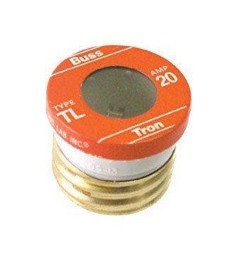 BUSSMANN TL-20-20 Amp Time Delay- Loaded Link Edison Base Plug Fuse 125V Ul Listed (Pack of 1)