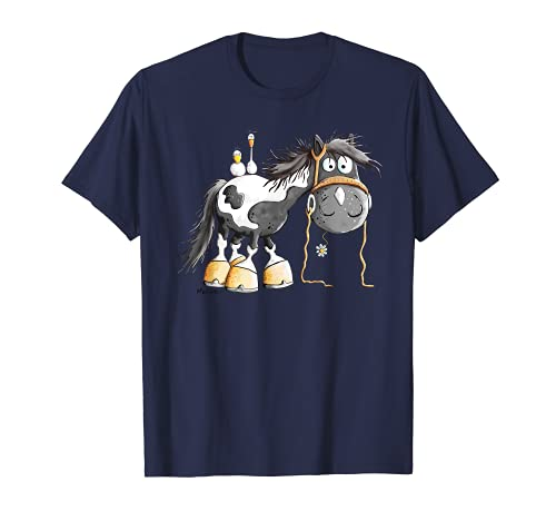 Süßer Schecke T-Shirt I Pferd Pony I Kinder Geschenk