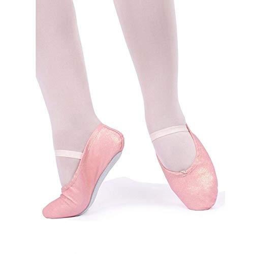 Sapatilha Só Dança Meia Ponta Com Glitter Para Ballet Infantil