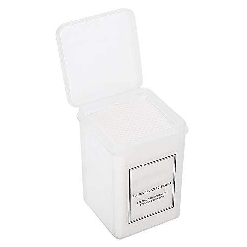 Feuille de coton non tisse Tampons de nettoyage pour vernis a ongles REFURBISHHOUSE 325 Pcs Tampons en coton sans peluche pour enlever Gel a ongles