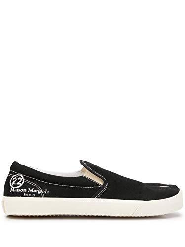 Maison Margiela Luxury Fashion Uomo S57WS0294P1875T8013 Nero Cotone Slip On Sneakers | Stagione Permanente