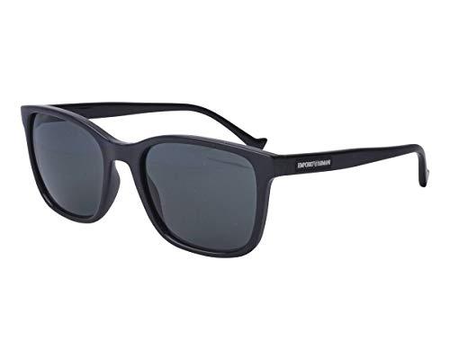 Emporio Armani Unisex 0EA4139 Sonnenbrille, Black, 54