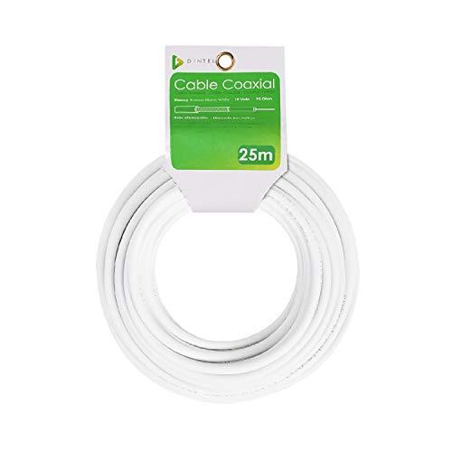 Dintel - Bobina Cable Coaxial 25 Metros de Longitud
